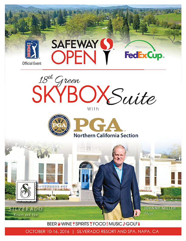 18th Green Skybox Suite Ticket - WEDNESDAY