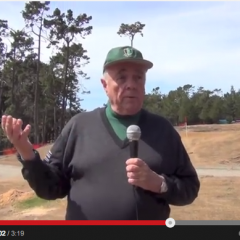 Robert Trent Jones Jr. – Poppy Hills Site Visit