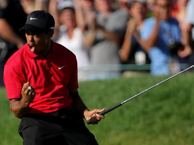 how long since tiger woods last win