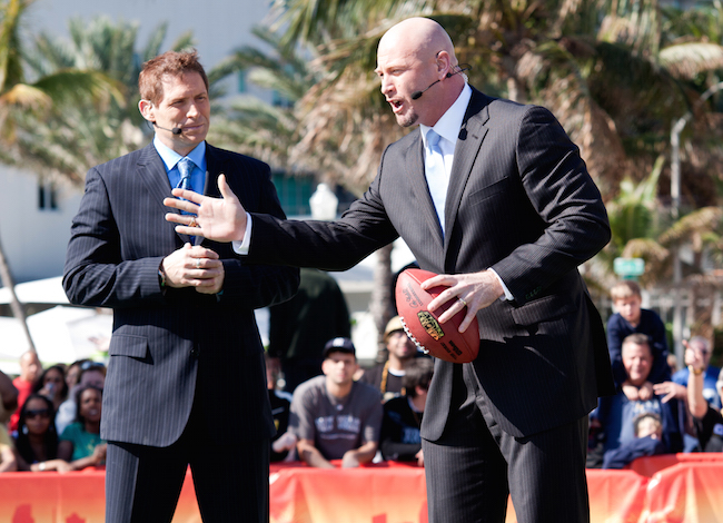 2010 -- Steve Young and Trent Dilfer