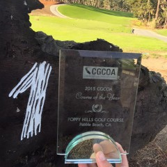 Poppy Hills Named Course of the Year by California Golf Course Owners Association