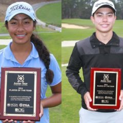 Thomas Hutchison, Sabrina Iqbal 2016 Junior Tour of Northern California Players of Year