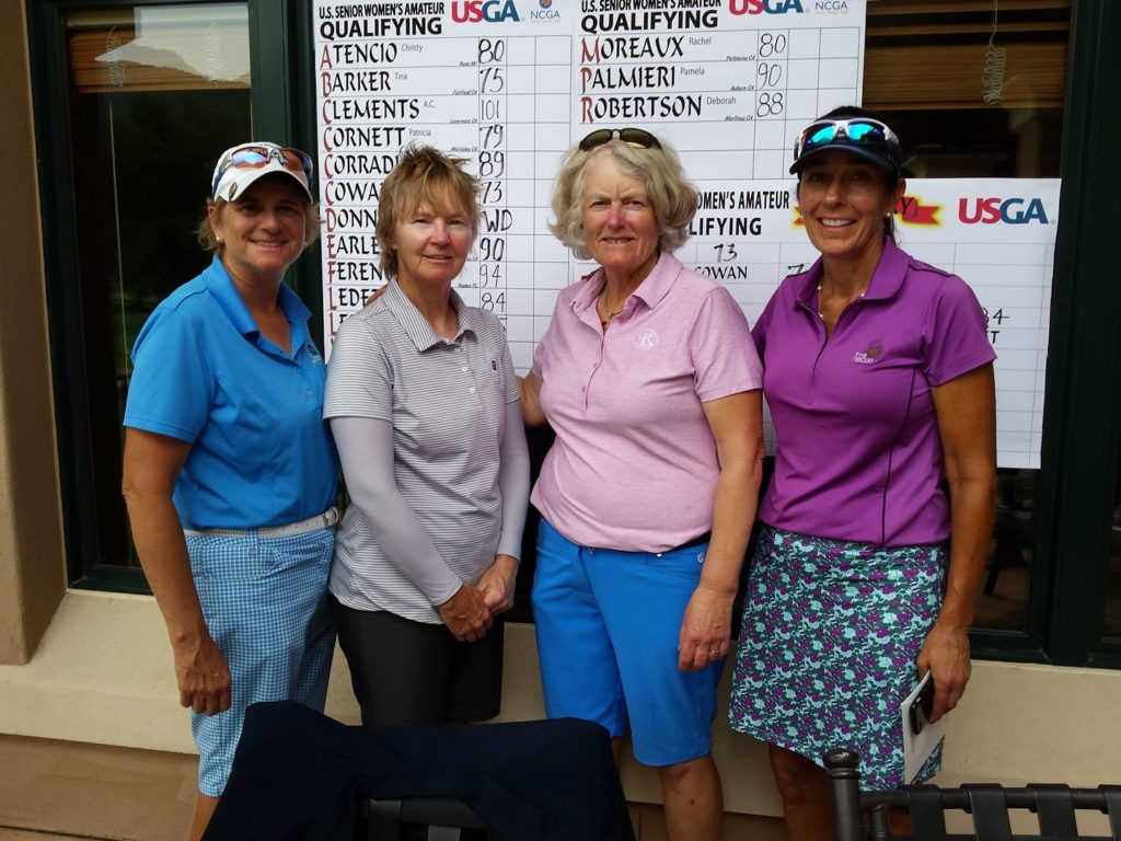 womens amateur Senior