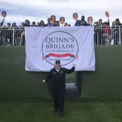 Quinn's Brigade Raises $255,000 for Youth on Course