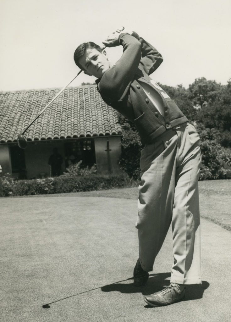 "Frank Donovan ""Sandy"" Tatum, Jr, Stanford University, 1942 NCAA Golf Champion. He played on the 1941 & 1942 national championship teams."